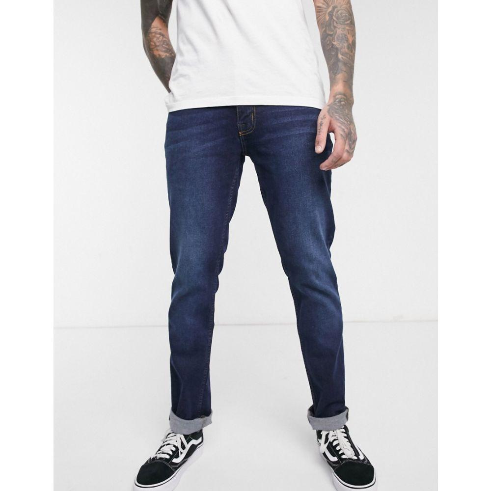 ベンシャーマン Ben Sherman メンズ ジーンズ・デニム ボトムス・パンツ【slim fit jeans in mid wash】Blue