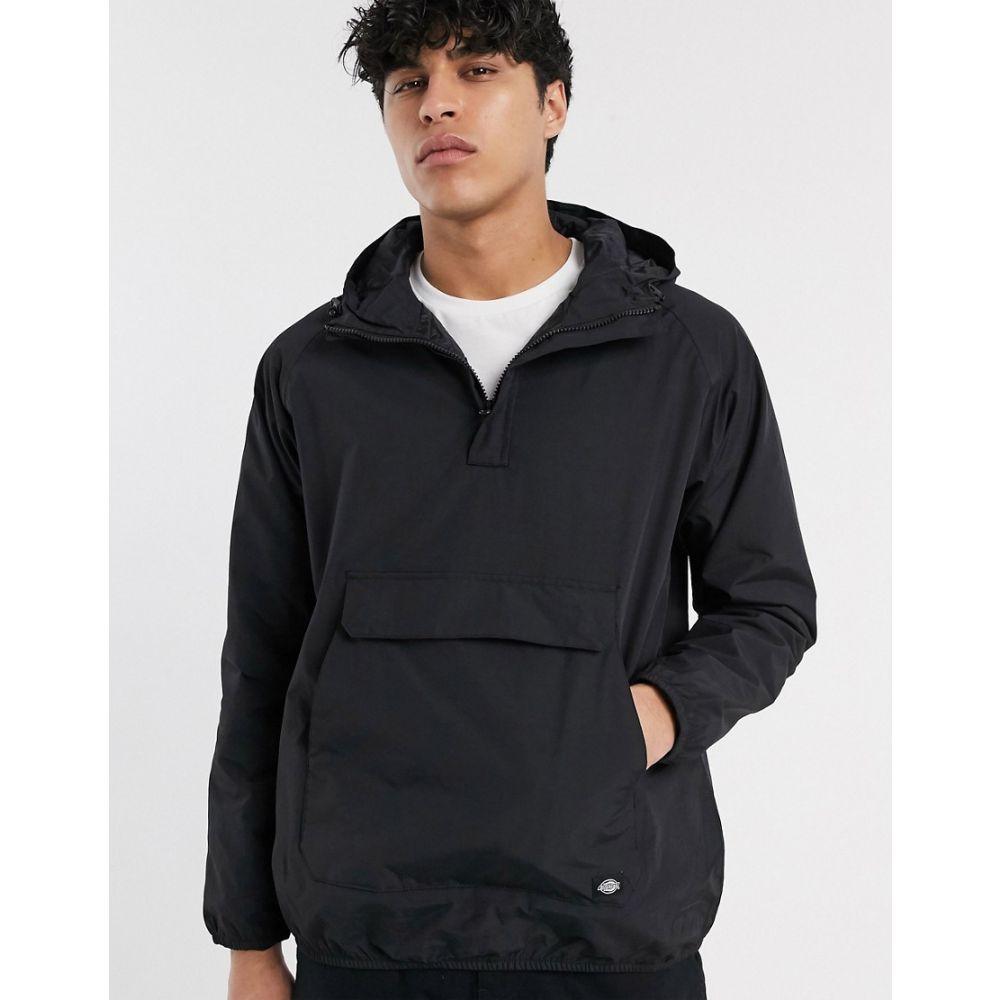ディッキーズ Dickies メンズ ジャケット アウター【Rexville overhead jacket with front pocket in black】Black