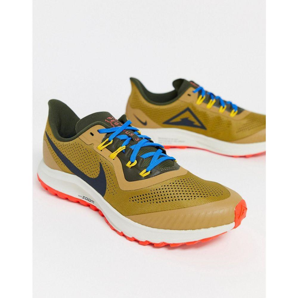 ナイキ Nike Running メンズ スニーカー エアズーム シューズ・靴【Air Zoom Pegasus 36 Trail trainers in multi】Multi