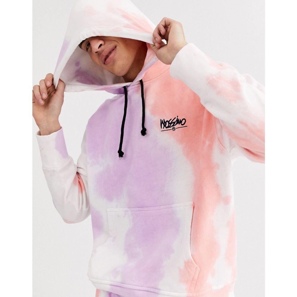 モッシモ Mossimo メンズ パーカー トップス【Relaxed hoodie in tie dye】Multi