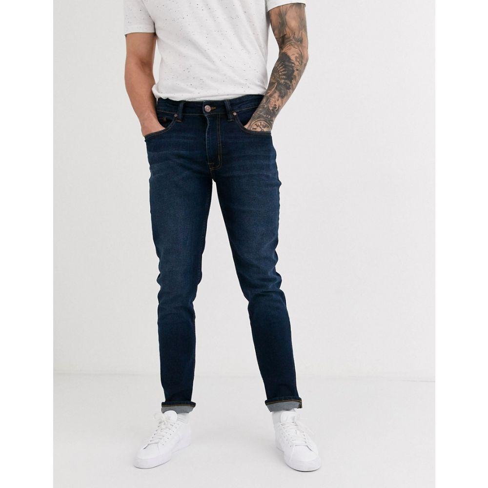 ベンシャーマン Ben Sherman メンズ ジーンズ・デニム ボトムス・パンツ【mid-dark wash slim fit jeans】Blue
