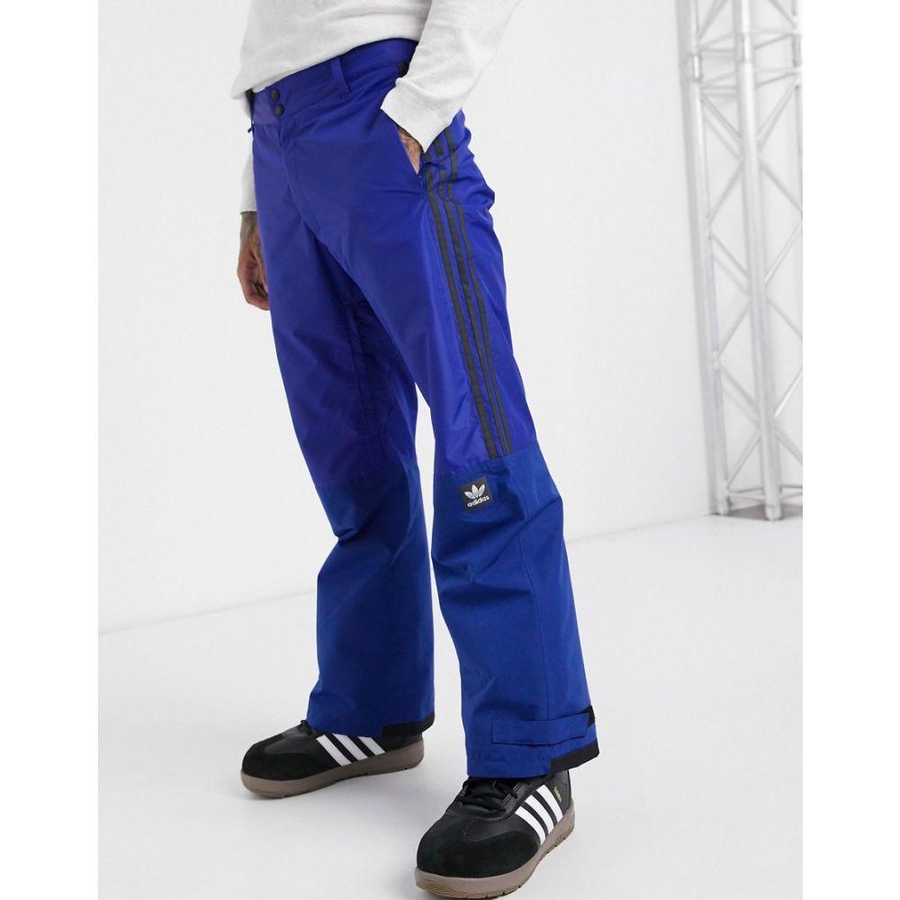 アディダス adidas Snowboarding メンズ スキー・スノーボード ボトムス・パンツ【Adidas Snowboarding Riding Pant in blue】Blue