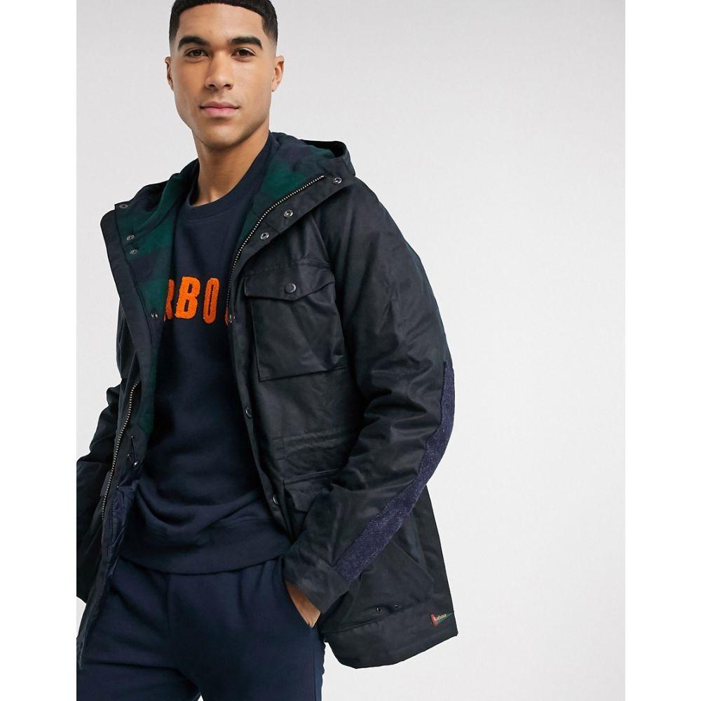 バブアー Barbour メンズ ジャケット アウター【Coll wax jacket in navy】Navy