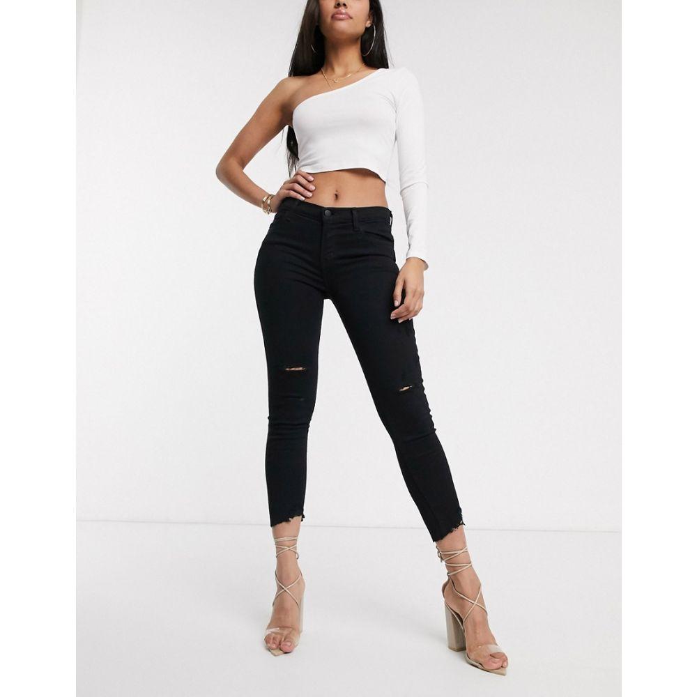 ジェイ ブランド J Brand レディース ジーンズ・デニム ボトムス・パンツ【835 mid rise crop skinny jeans】Overexposure