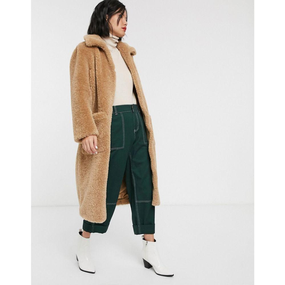 ホイッスルズ Whistles レディース コート テディベアコート アウター【teddy button up coat】Neutral