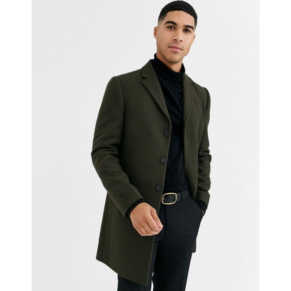 ルーディー RUDIE メンズ コート アウター【Rudie premium wool blend overcoat】Green
