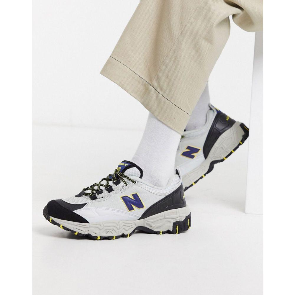 ニューバランス New Balance メンズ スニーカー シューズ・靴【801 Trail Trainers in Silver】Grey