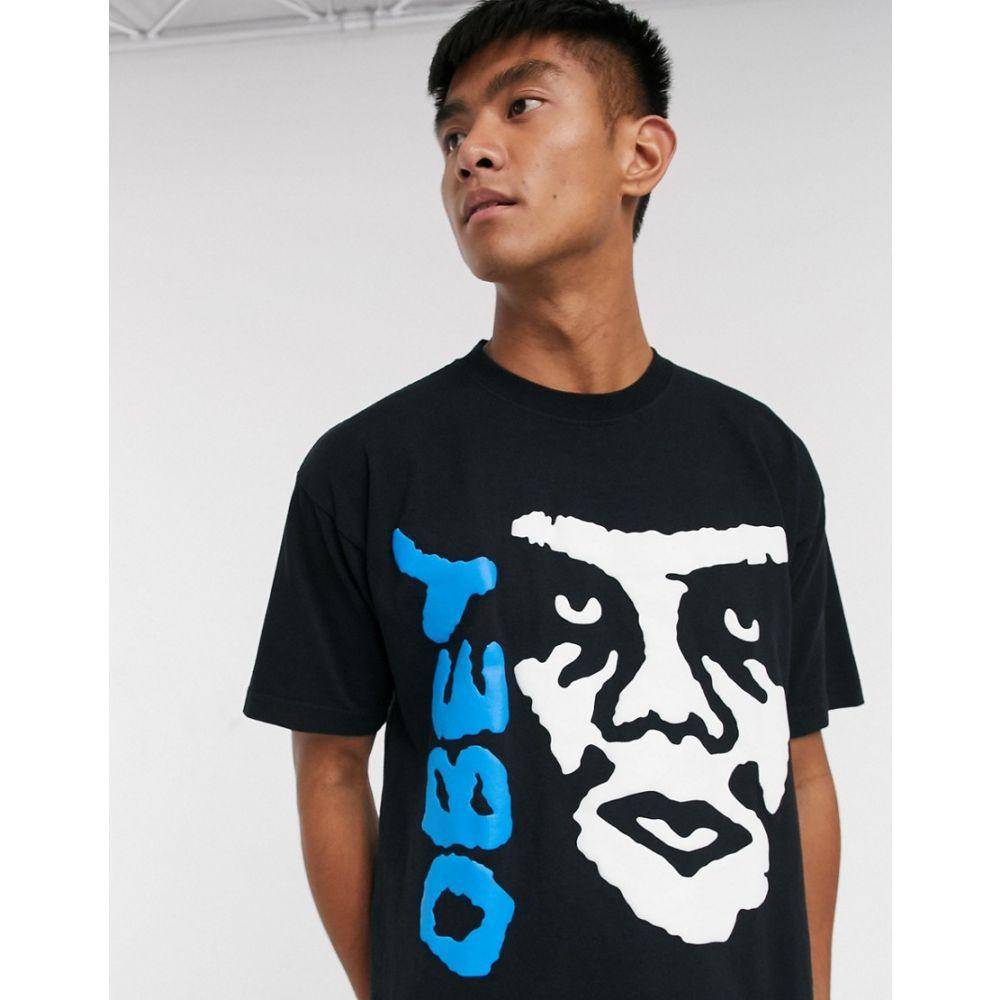 オベイ Obey メンズ Tシャツ トップス【The Creeeper II t-shirt in black】Off black