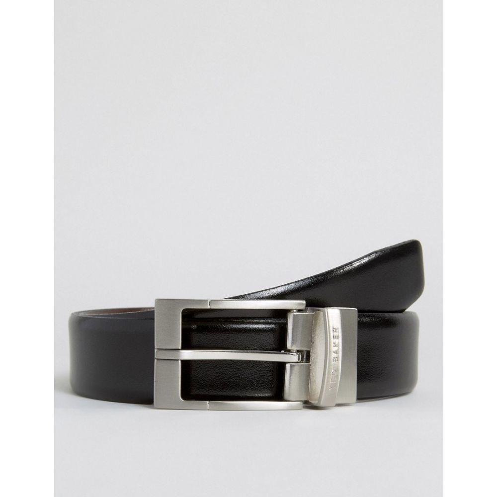 テッドベーカー Ted Baker メンズ ベルト 【reversible smart leather belt】Black