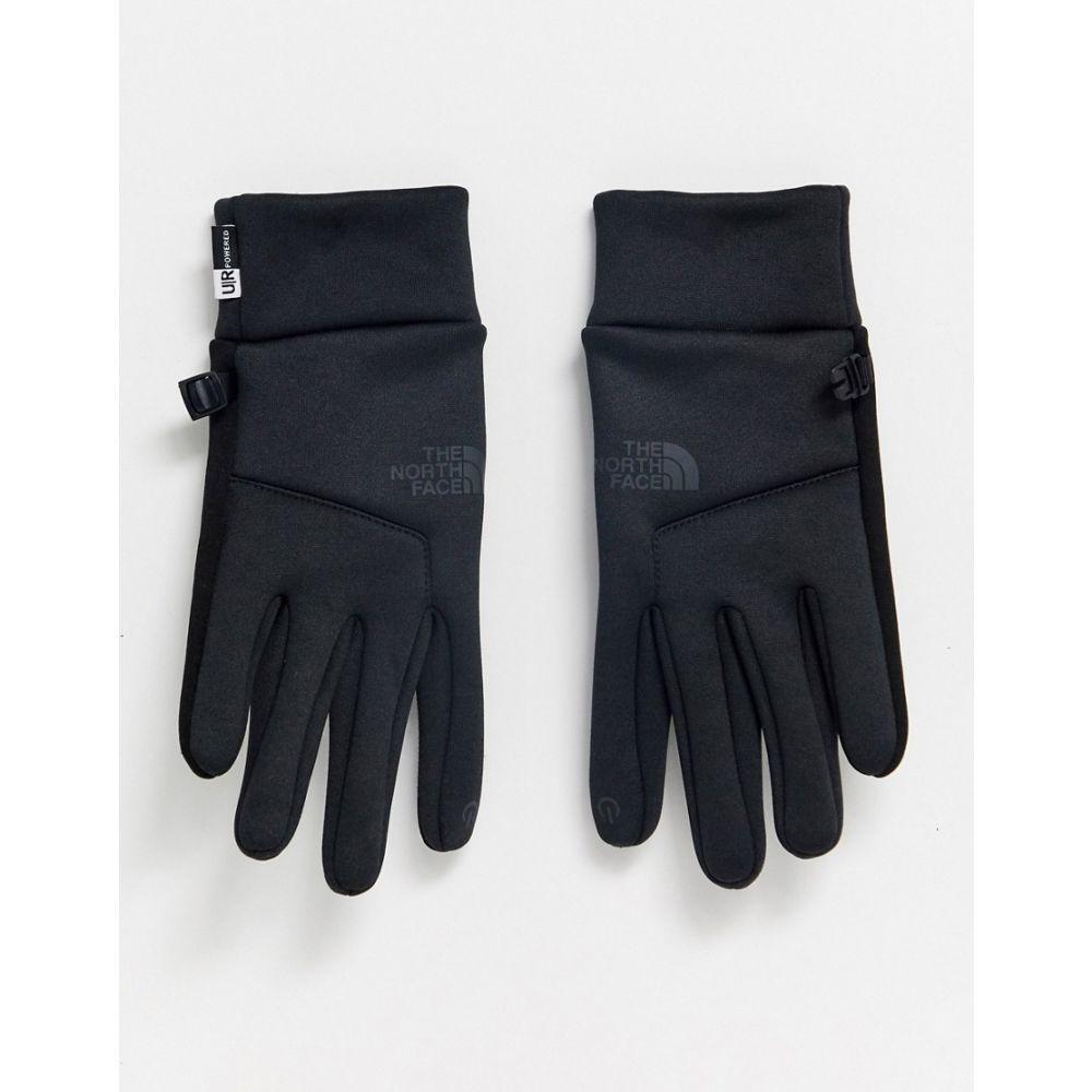 ザ ノースフェイス The North Face メンズ 手袋・グローブ 【Etip Hardface gloves in black】Black