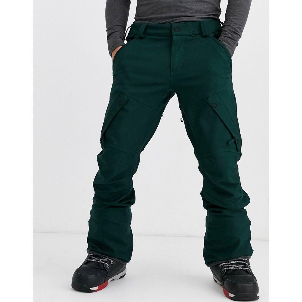 ボルコム Volcom メンズ スキー・スノーボード ボトムス・パンツ【Articulated snow pant in dark green】Green