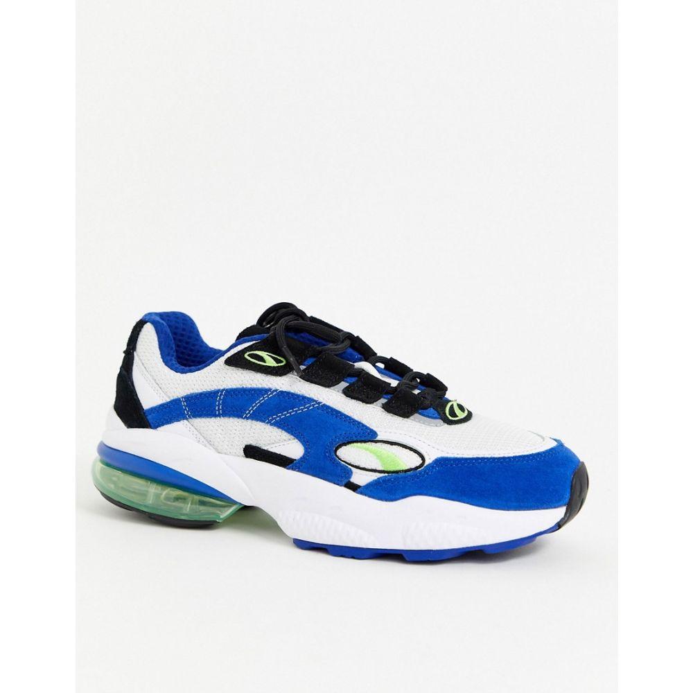 プーマ Puma メンズ スニーカー シューズ・靴【cell venom trainer】White/blue