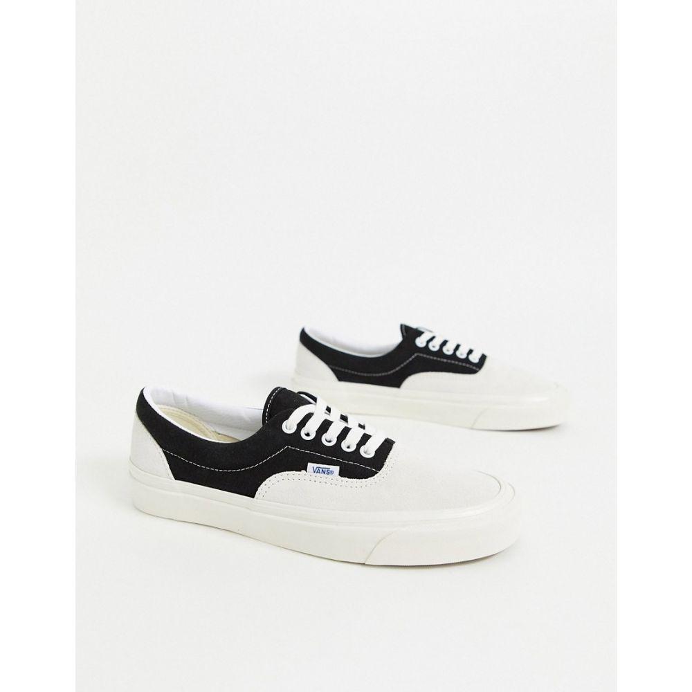 ヴァンズ Vans メンズ スニーカー シューズ・靴【Anaheim Era 95 DX trainers in white/black】og