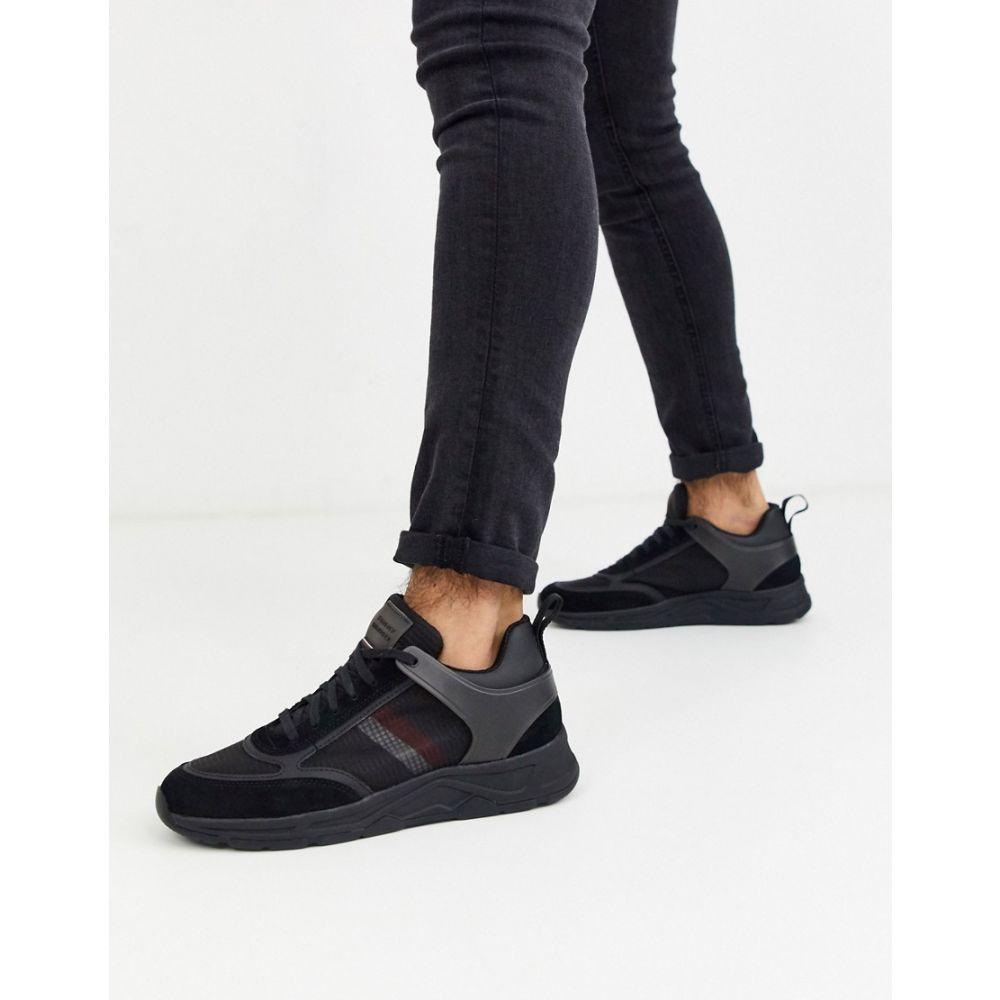 トミー ヒルフィガー Tommy Hilfiger メンズ ランニング・ウォーキング シューズ・靴【premium runner corporate mix in black】Black