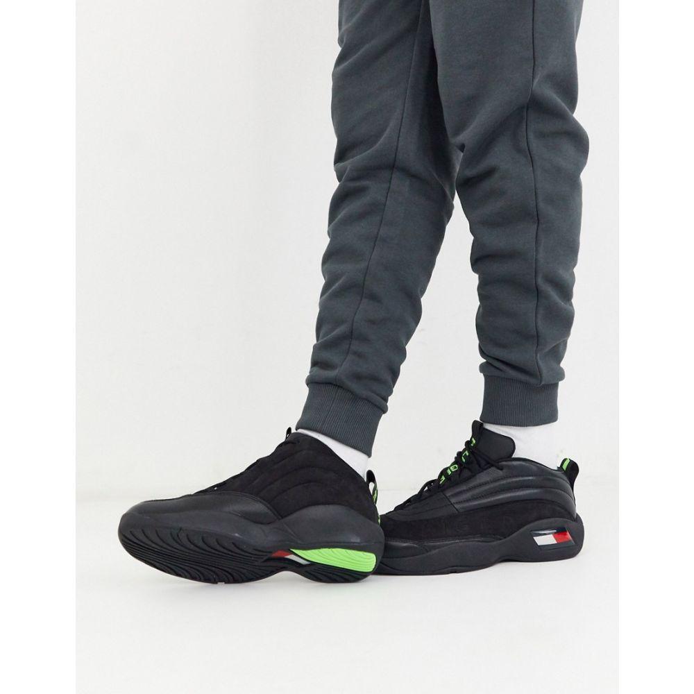 トミー ジーンズ Tommy Jeans メンズ スニーカー シューズ・靴【skew heritage trainer in black】Black
