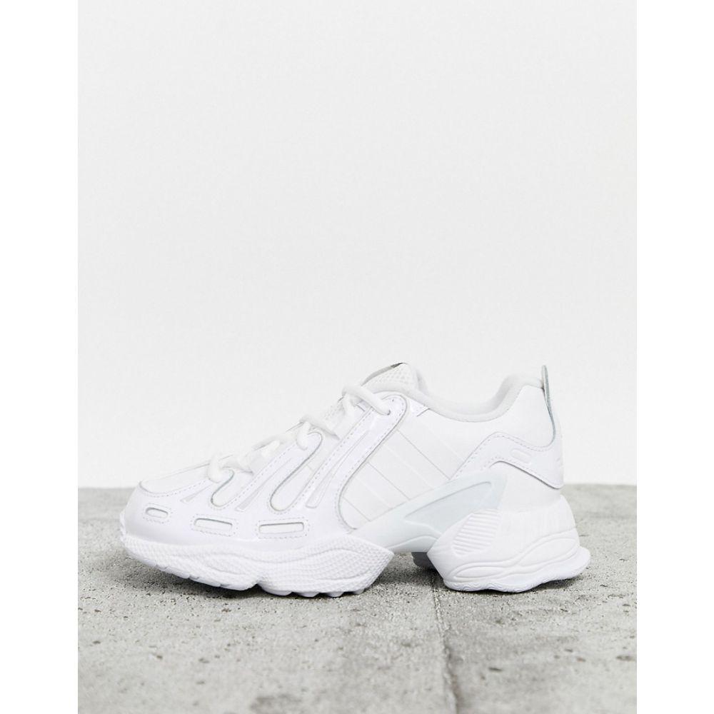 アディダス adidas Originals レディース スニーカー シューズ・靴【EQT Gazelle trainers in triple white】White