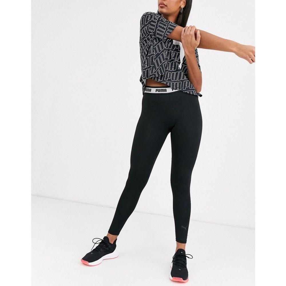 プーマ Puma レディース スパッツ・レギンス インナー・下着【soft sport leggings in black】Black