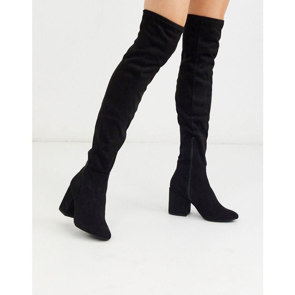 アルド ALDO レディース ブーツ シューズ・靴【block heel knee boots in black】Black