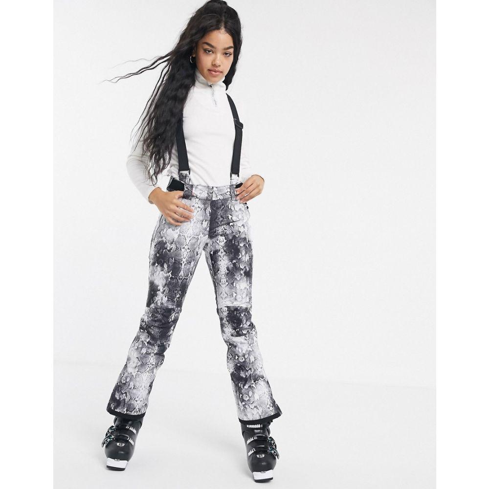 デア トゥビー Dare 2b レディース スキー・スノーボード ボトムス・パンツ【Dare2b Effused ski pant in black】Monochrome snakeskin