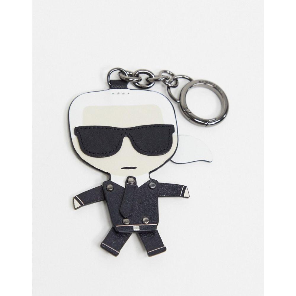 カール ラガーフェルド Karl Lagerfeld レディース キーホルダー キーチェーン【k/ikonik dancing karl keychain】Black
