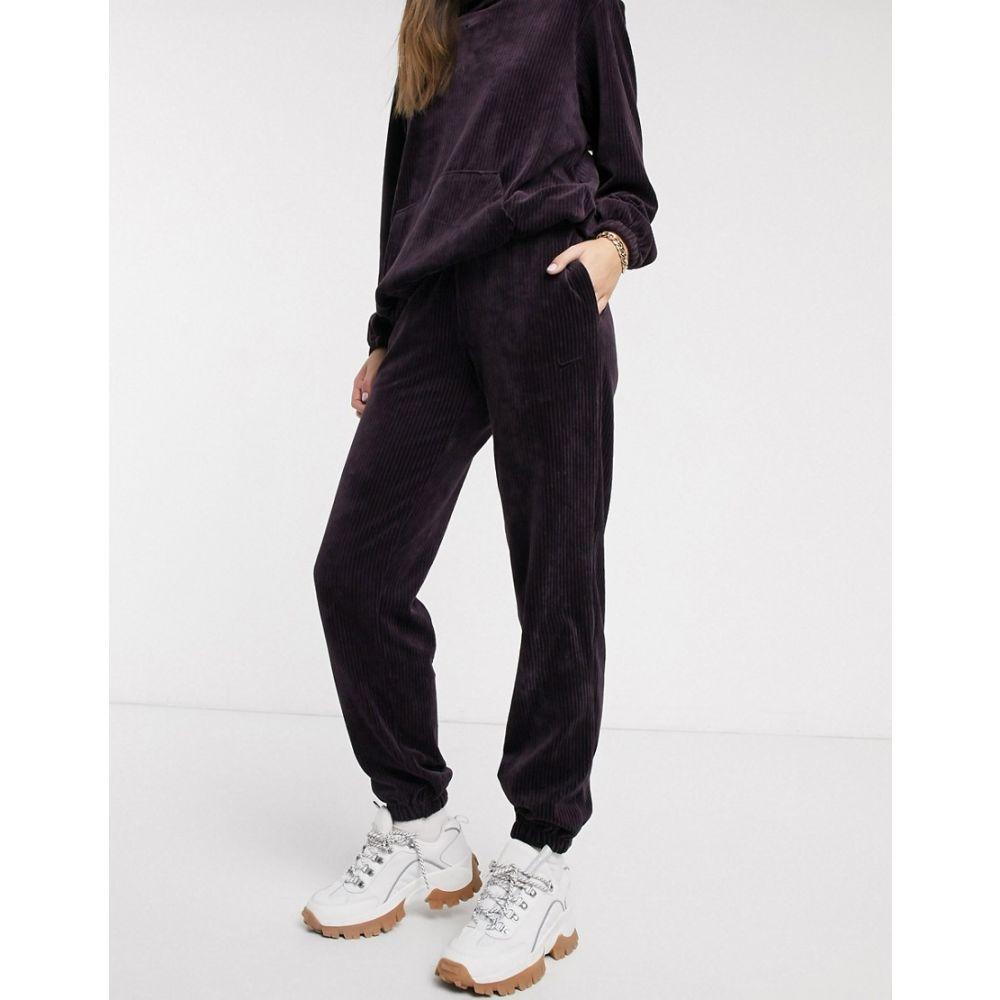 ナイキ Nike レディース ジョガーパンツ ボトムス・パンツ【burgundy cord loose fit joggers】Burgundy ash
