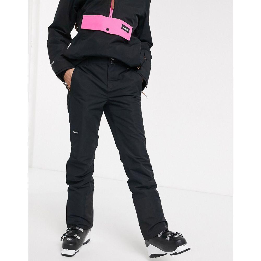 プランクス Planks レディース スキー・スノーボード ボトムス・パンツ【Overstoke ski pant in black】Black