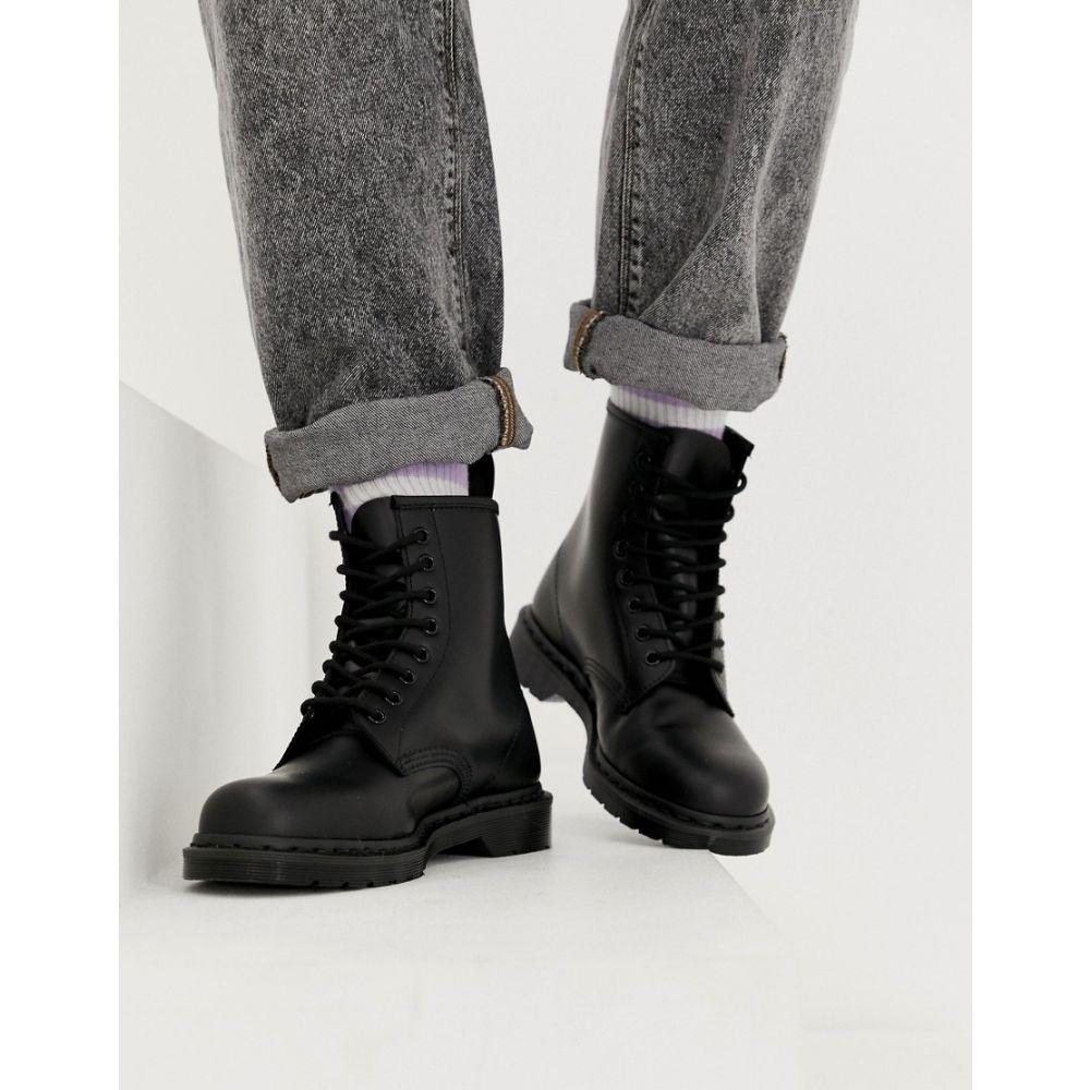 ドクターマーチン Dr Martens メンズ ブーツ シューズ・靴【1460 mono 8-eye boots in black】Black