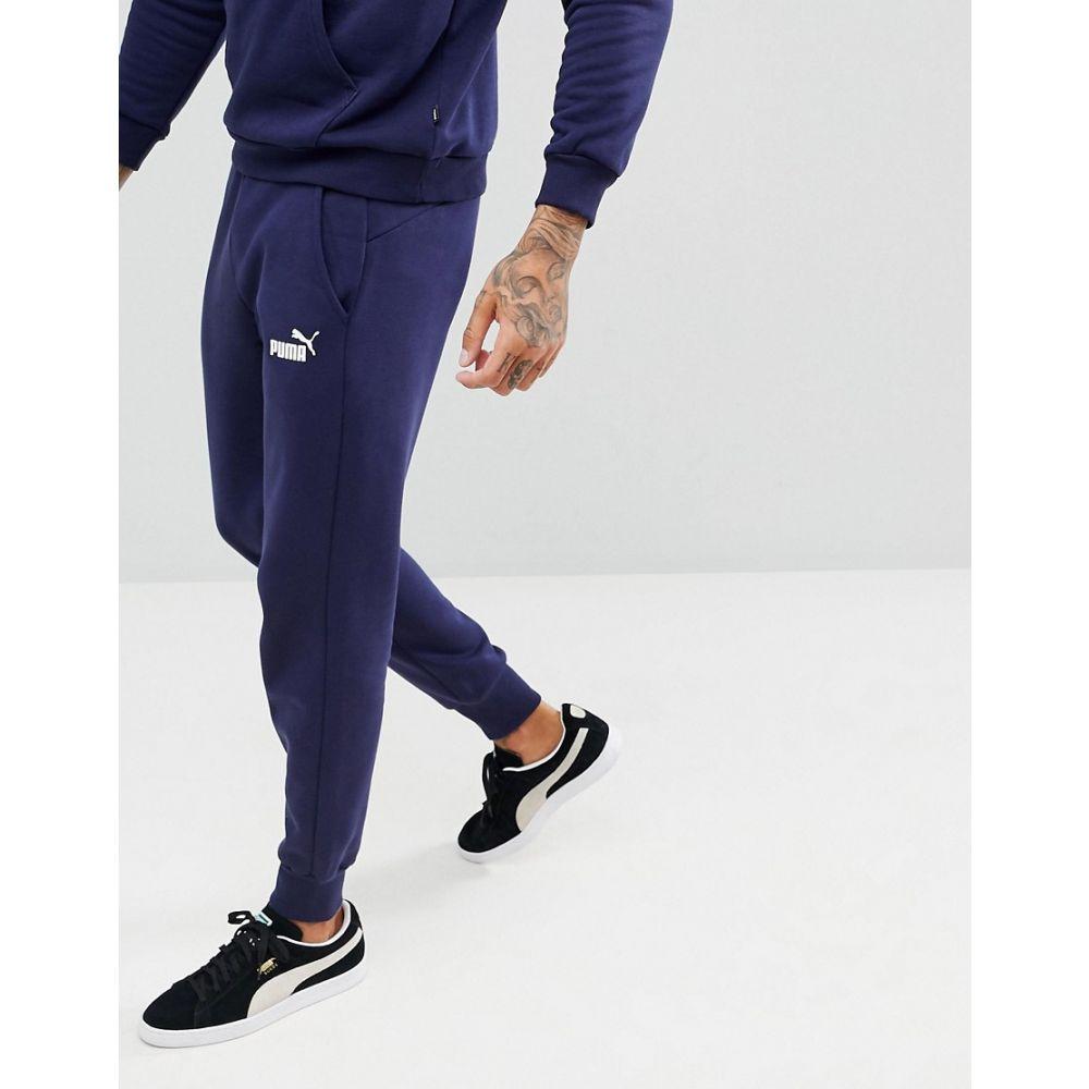 プーマ Puma メンズ ジョガーパンツ ボトムス・パンツ【Essential Skinny Joggers In Navy 85175306】Navy