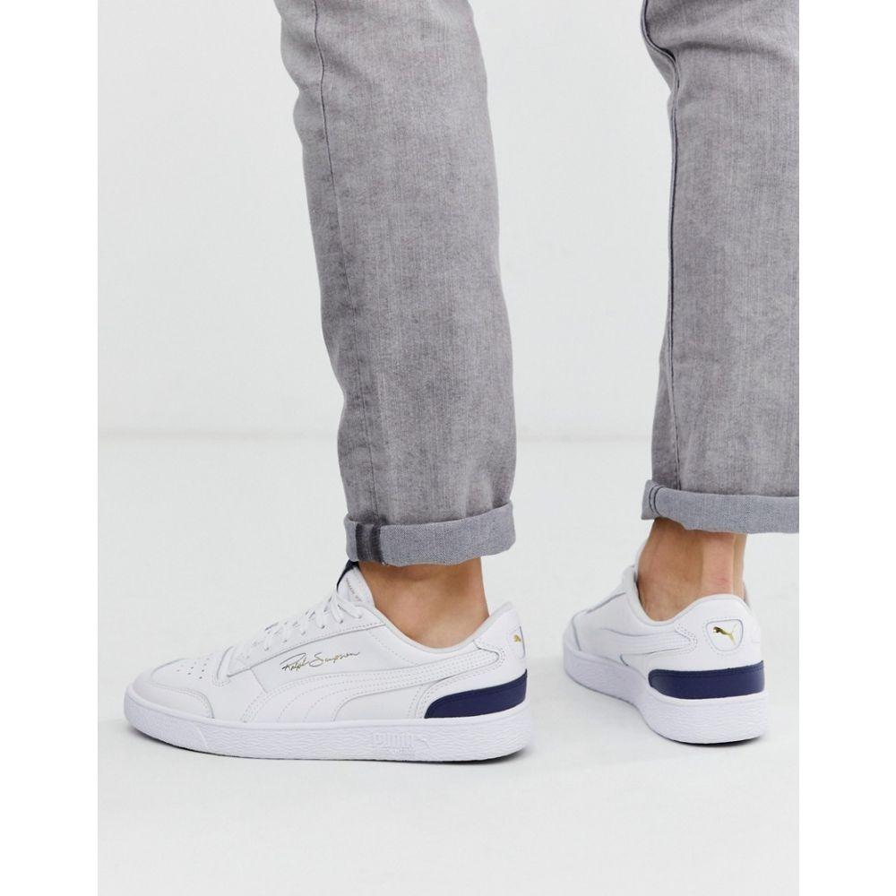 プーマ Puma メンズ スニーカー シューズ・靴【Ralph Sampson Lo trainers in white】Peacoat