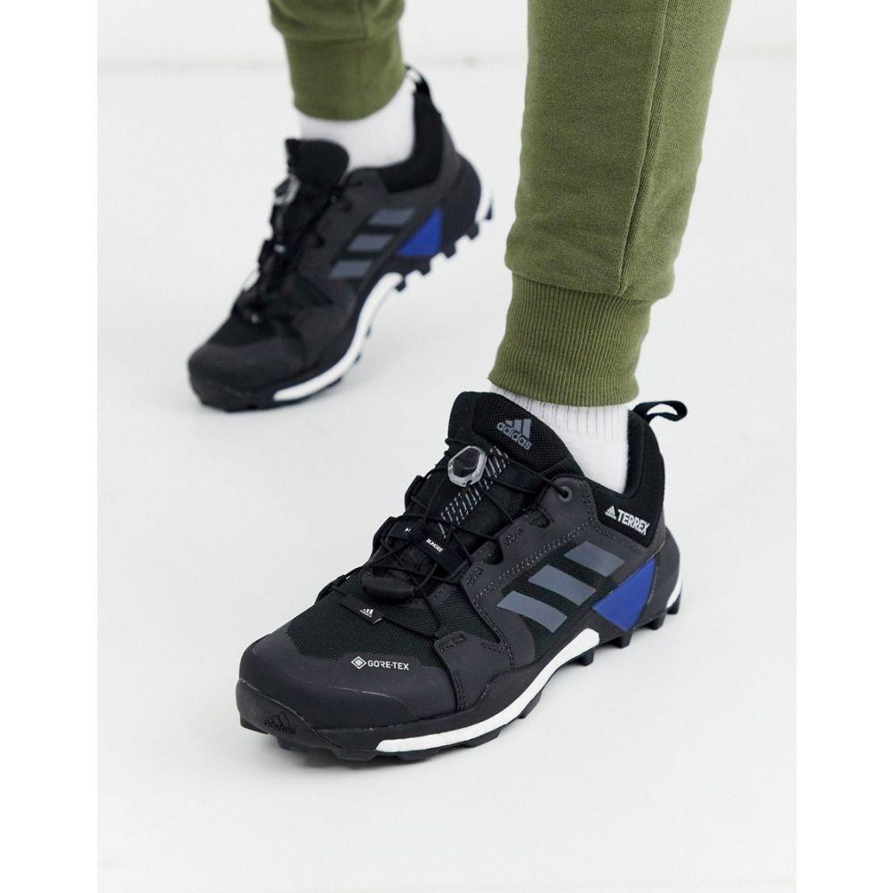 アディダス adidas performance メンズ ランニング・ウォーキング シューズ・靴【adidas Running terrex skychaser XT Boost trainers in BLACK】Black