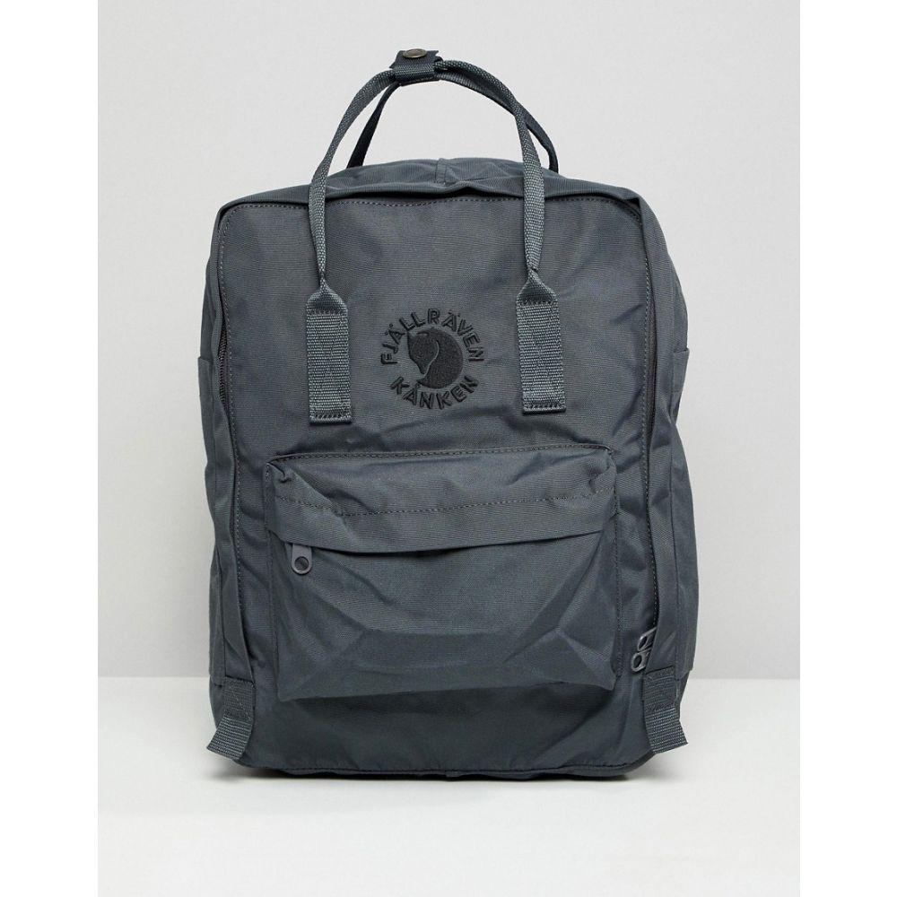 フェールラーベン Fjallraven レディース バックパック・リュック バッグ【Re-Kanken Slate Backpack】slate