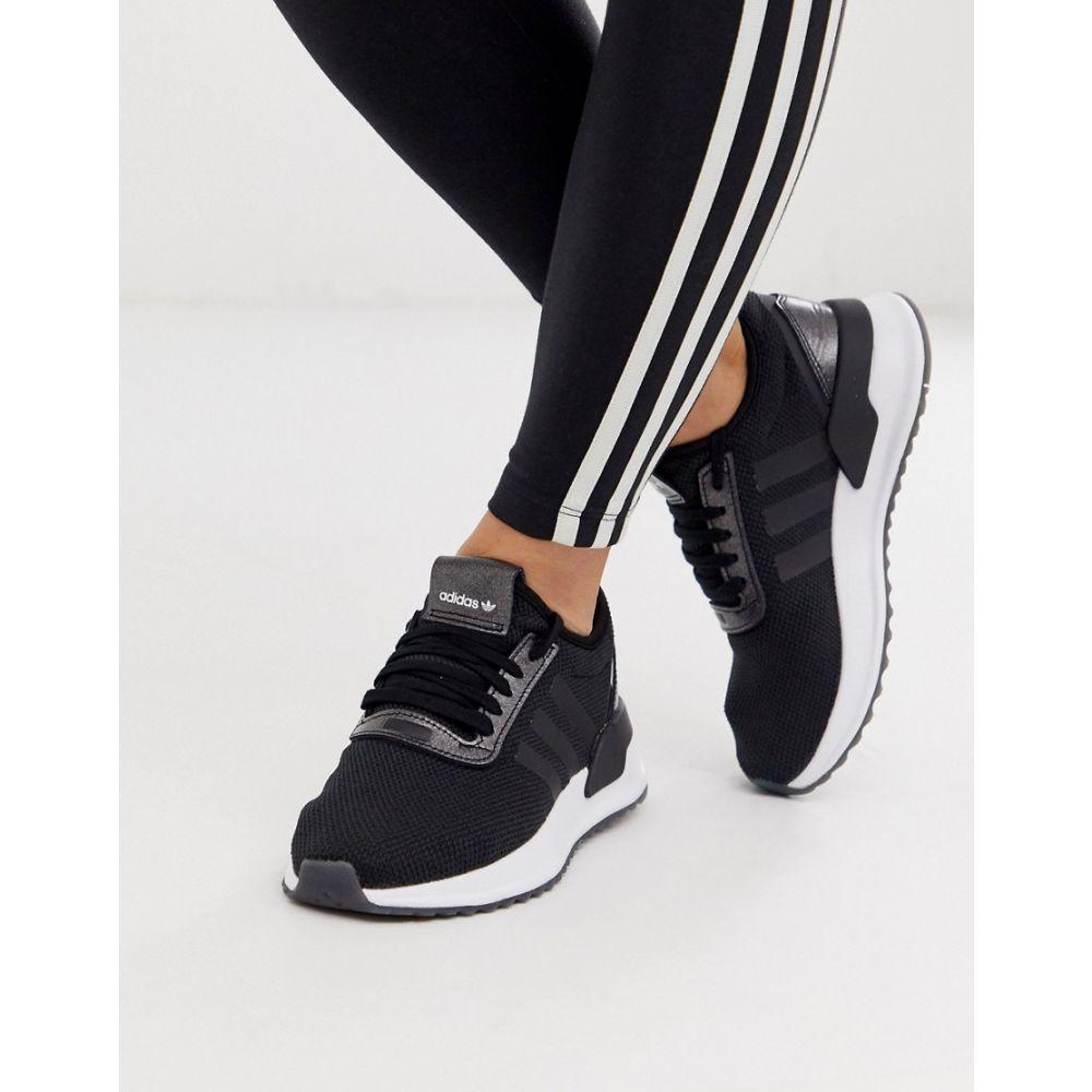 アディダス adidas Originals レディース ランニング・ウォーキング シューズ・靴【U Path Run trainers in black】Core black