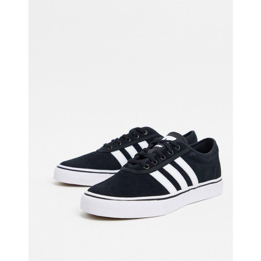 アディダス adidas Skateboarding メンズ スニーカー シューズ・靴【Adi-Ease trainers in black】Black