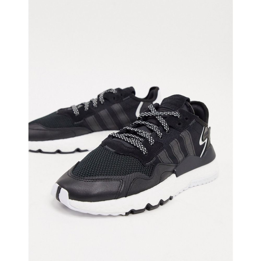 アディダス adidas Originals メンズ スニーカー シューズ・靴【Nite Jogger trainers in black】Black