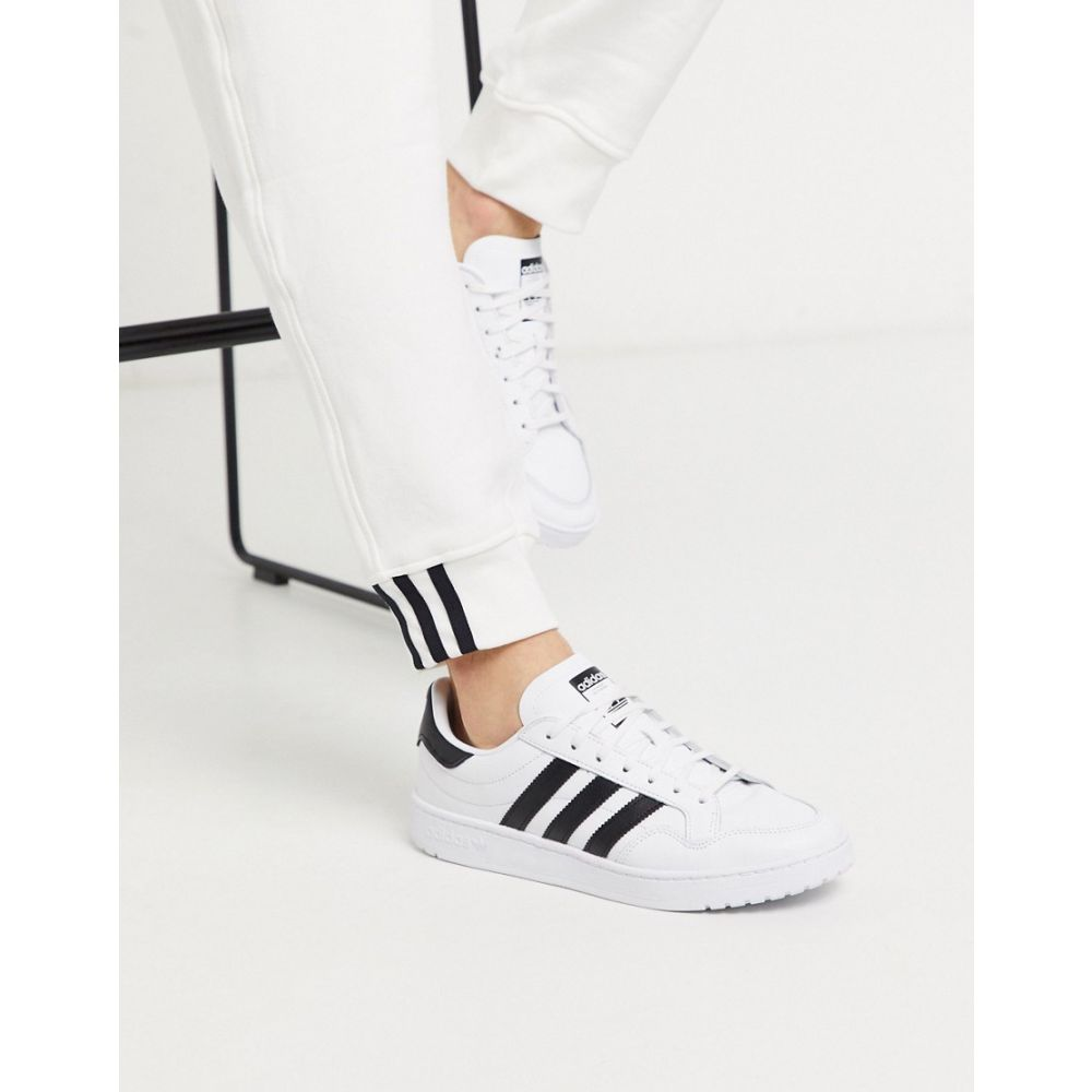 アディダス adidas Originals メンズ スニーカー シューズ・靴【Team Court trainers in white】White