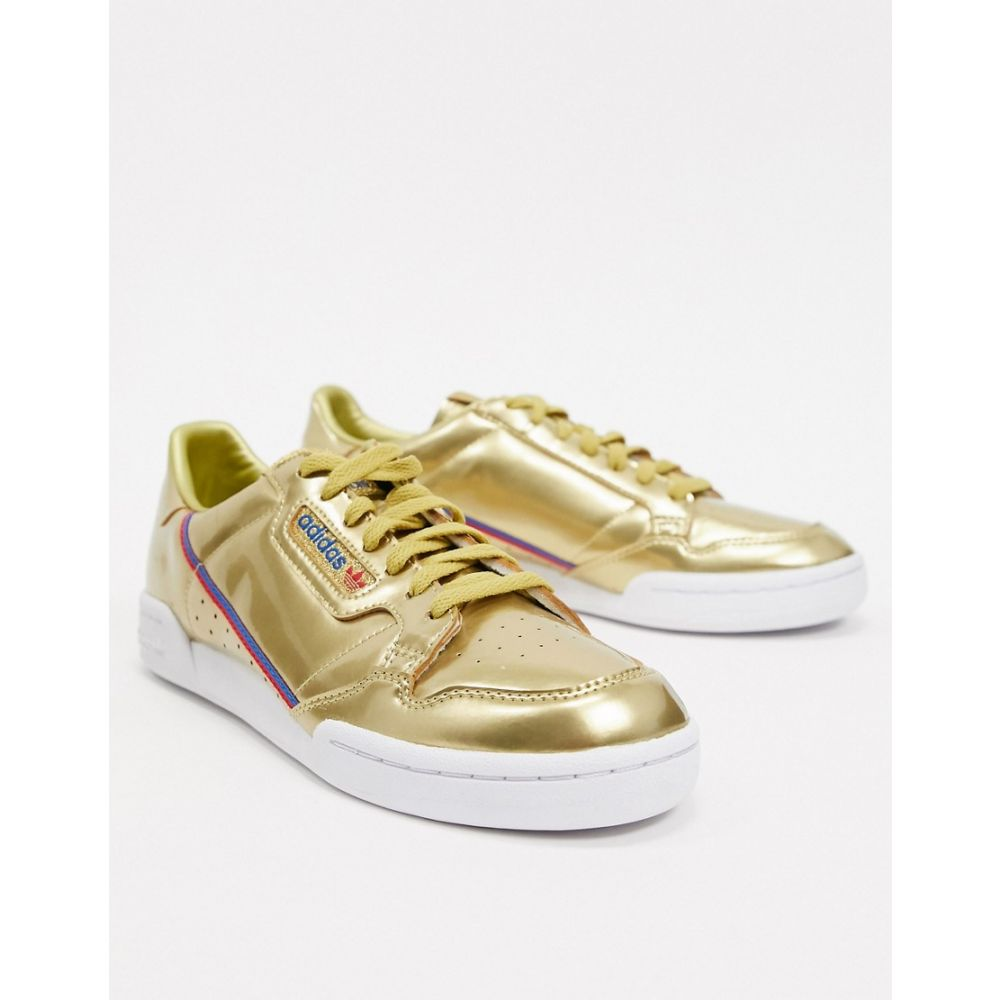 アディダス adidas Originals メンズ スニーカー シューズ・靴【continental 80 trainers gold tech pack】Metallic