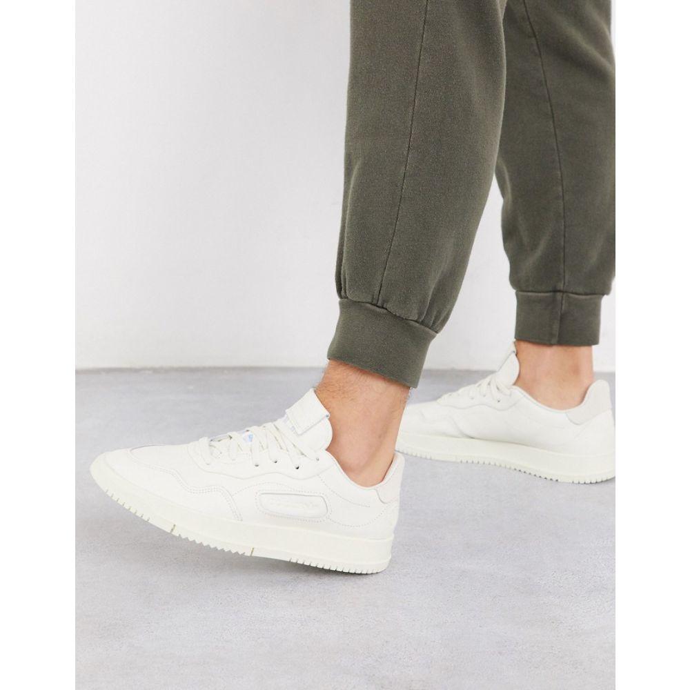 アディダス adidas Originals メンズ スニーカー シューズ・靴【SC Premier trainers in off white】white