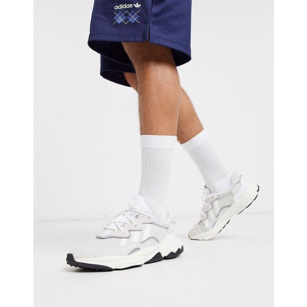 アディダス adidas Originals メンズ スニーカー シューズ・靴【Ozweego trainers in white】white