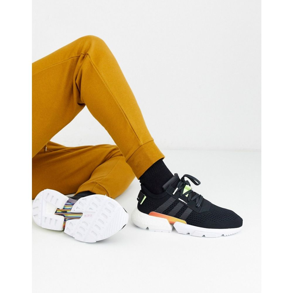 アディダス adidas Originals メンズ スニーカー シューズ・靴【adidas originals POD-S3.1 trainers】Black/green