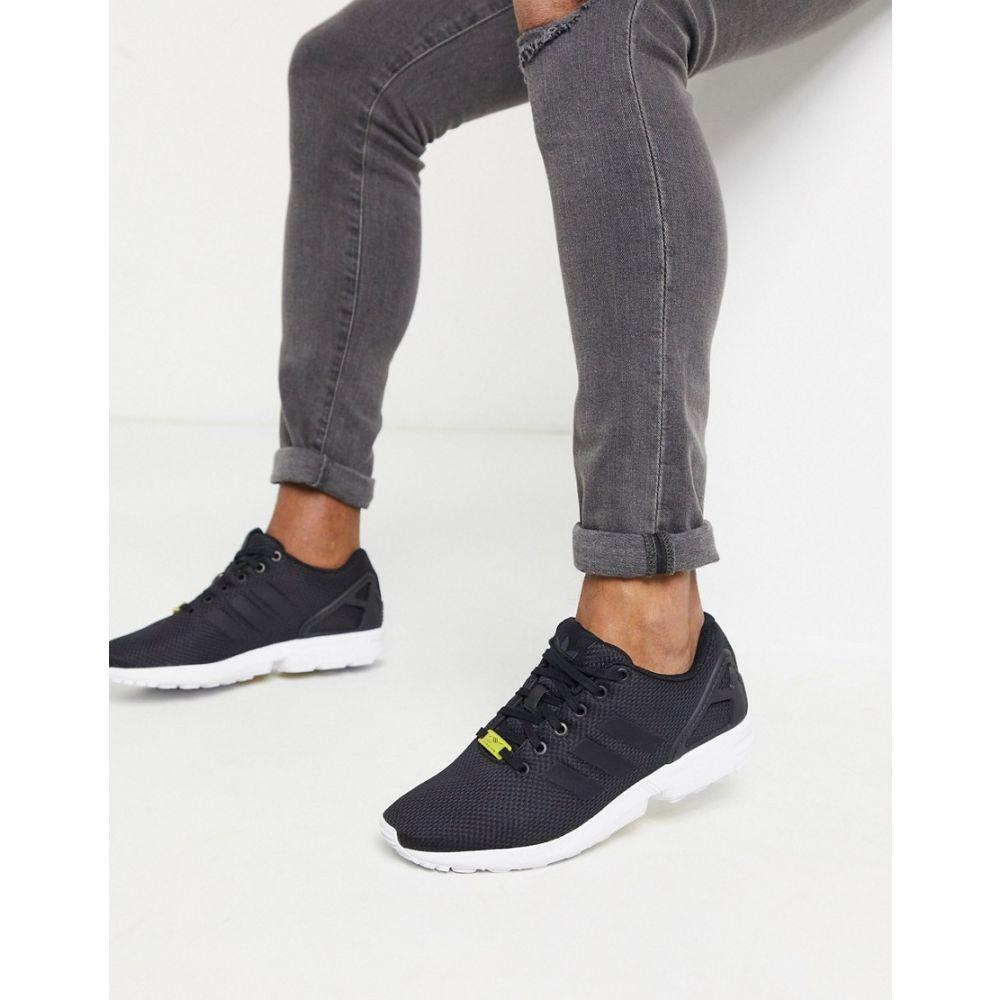 アディダス adidas Originals メンズ スニーカー シューズ・靴【ZX Flux trainers in black】black