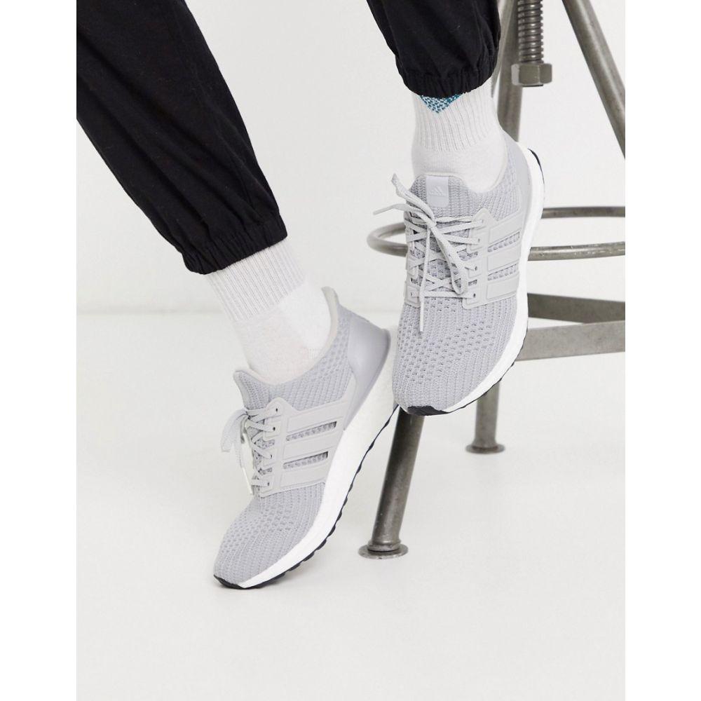 アディダス adidas メンズ スニーカー シューズ・靴【Ultra Boost trainers in grey】Grey three/cloud