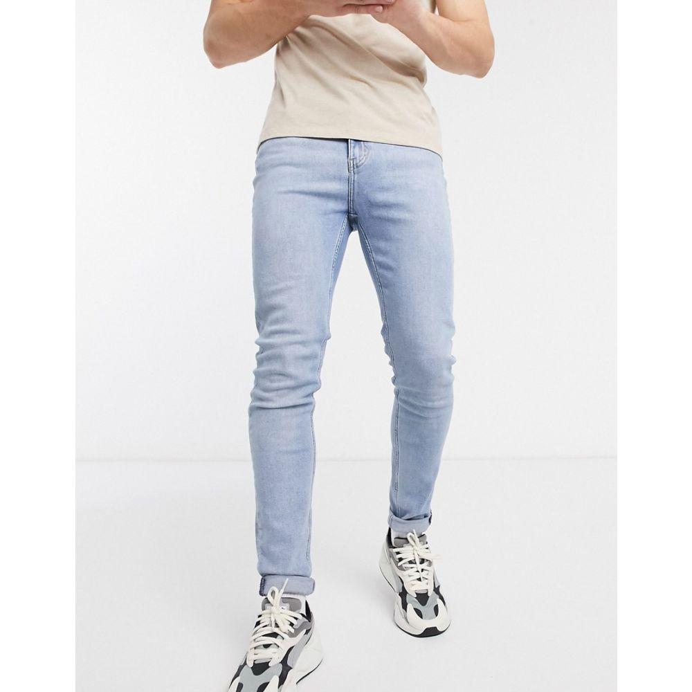 ウィークデイ Weekday メンズ ジーンズ・デニム ボトムス・パンツ【Friday slim tapered jeans in blue】Blue