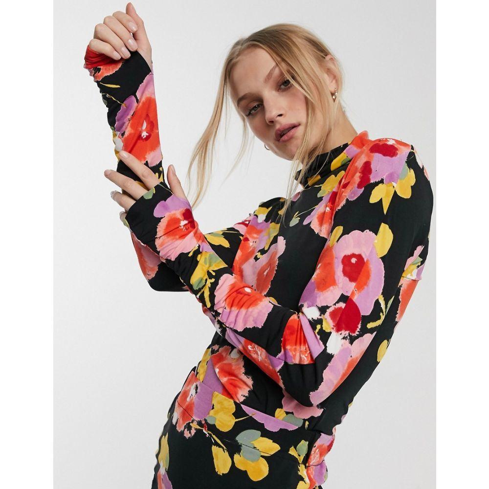 エッセンシャル Essentiel Antwerp レディース トップス 【Vailly all over print top】Jazzy pink