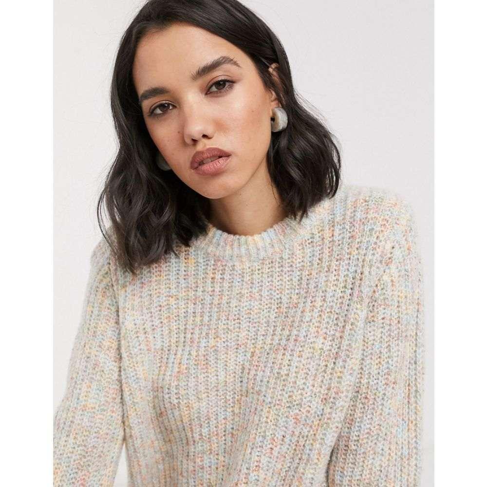 オンリー Only レディース ニット・セーター トップス【knitted jumper in beige】Beige