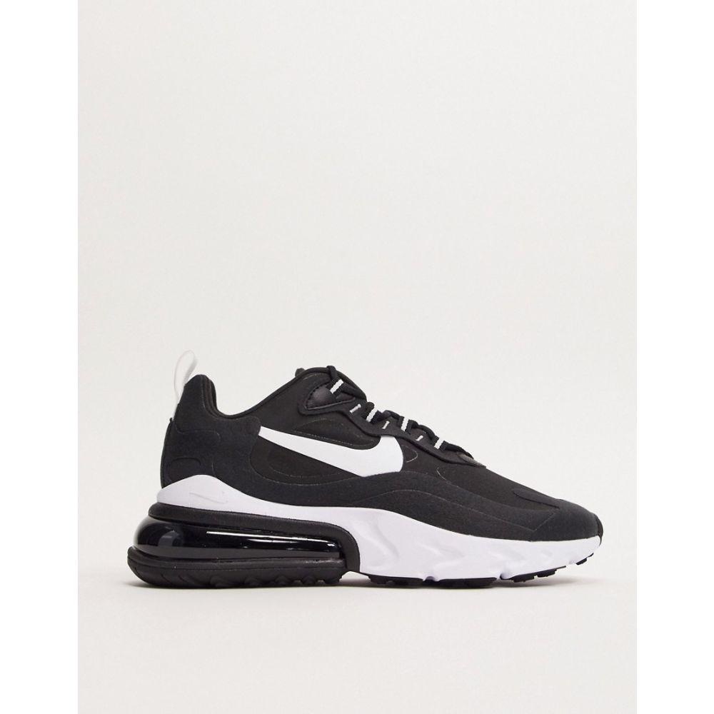 ナイキ Nike レディース スニーカー エアマックス 270 シューズ・靴【Air Max 270 React Black And White Trainers】Black/white