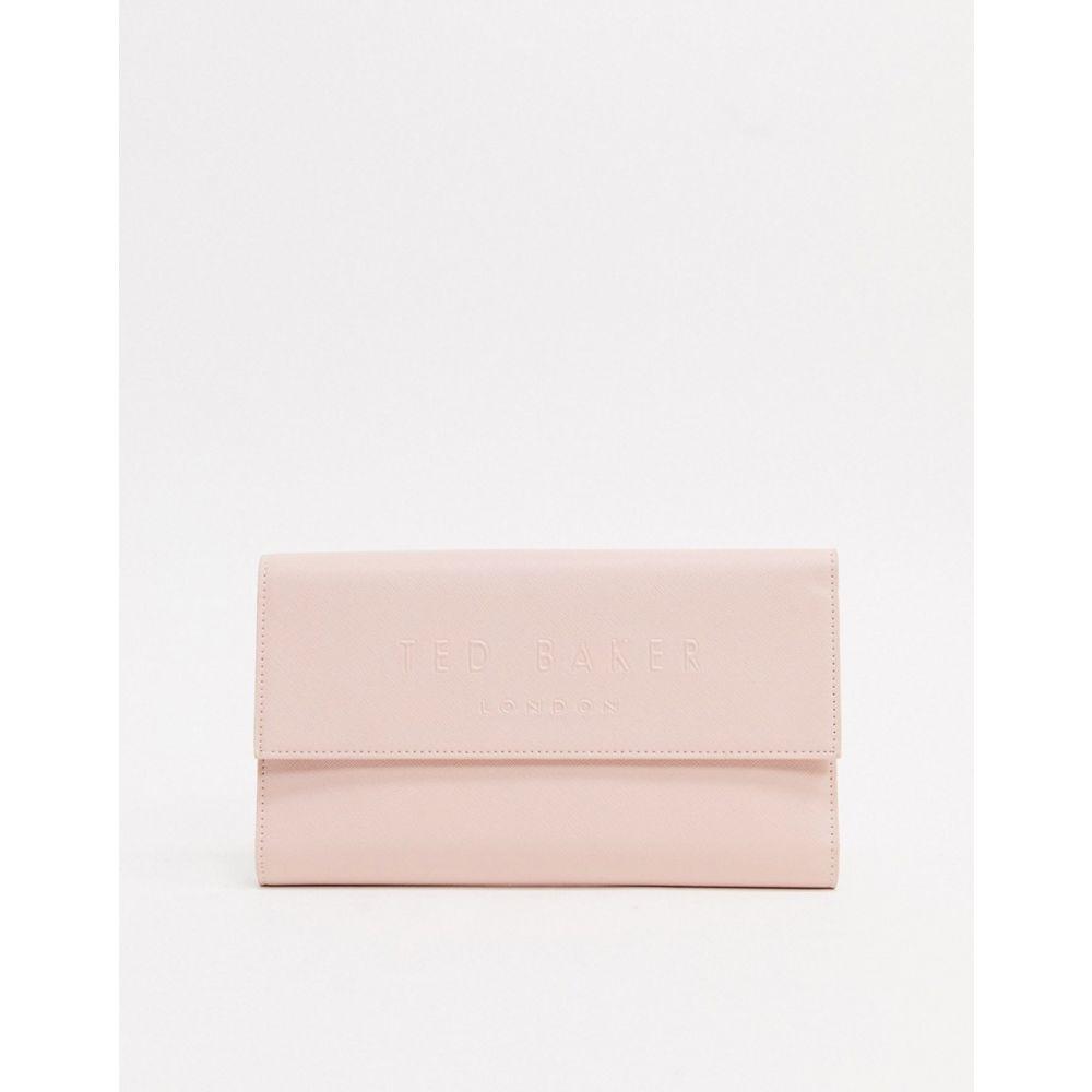 テッドベーカー Ted Baker レディース 財布 【deboss branded travel wallet】Pink