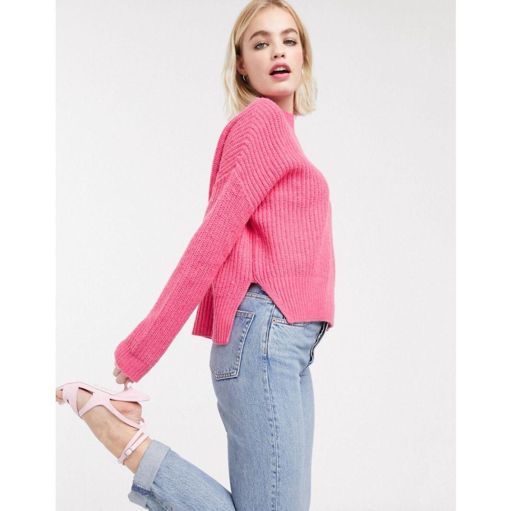 ホイッスルズ Whistles レディース ニット・セーター トップス【oversized ribbed jumper】Pink