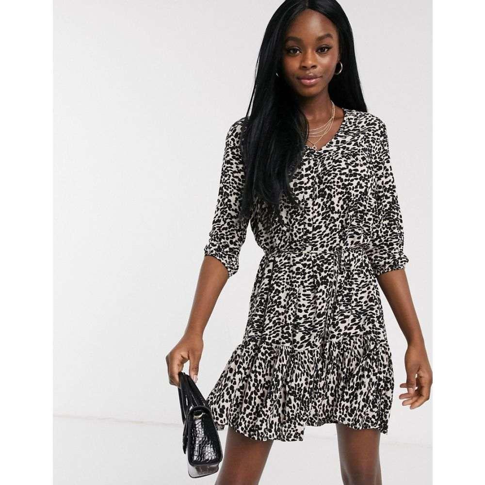ミス セルフリッジ Miss Selfridge レディース ワンピース ワンピース・ドレス【smock dress in animal print】Multi