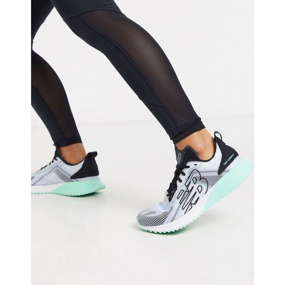 ニューバランス New Balance レディース ランニング・ウォーキング シューズ・靴【Running Fuel Cell trainers in white】White
