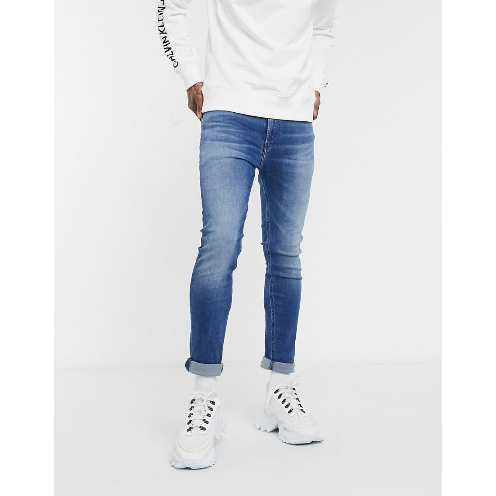 カルバンクライン Calvin Klein Jeans メンズ ジーンズ・デニム ボトムス・パンツ【skinny jeans in dark wash】Dark blue